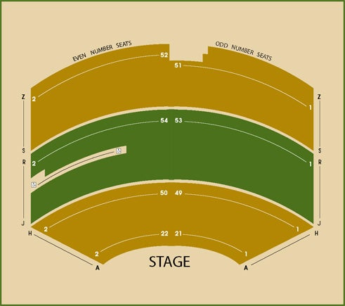 Seating Charts Parker Playhouse Exterior